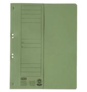 Ösenhefter A4 grün halber Vorderdeckel kaufmännische Heftung