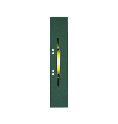 Heftstreifen lang RC-Karton grün 60x305mm