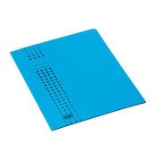 Aktendeckel Chic mit 3 Klappen blau für A4