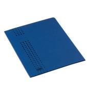 Aktendeckel Chic mit 3 Klappen dunekblau für A4