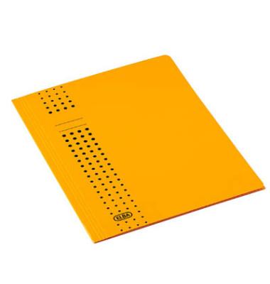 Aktendeckel Chic mit 3 Klappen gelb für A4