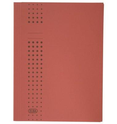 Aktendeckel Chic 100091168 A4 RC-Karton 320g, 3 Klappen, rot