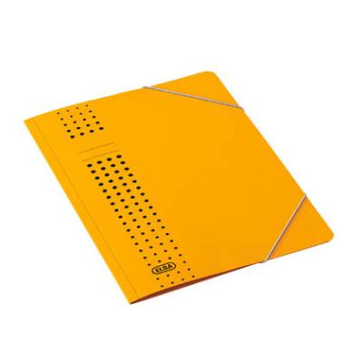 Eckspannmappe chic A4 450g gelb