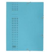 Eckspanner A4 chic blau 320g Karton blau 3 Klappen für 150 Blatt