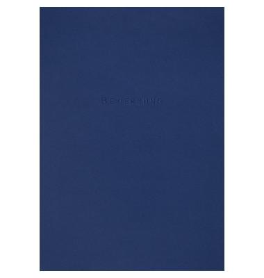 Bewerbungsmappe job excellent plus 3-teilig A4 bis 30 Blatt blau