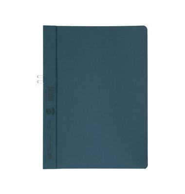 Klemmhefter 400001016, A4, für ca. 10 Blatt, Karton, blau