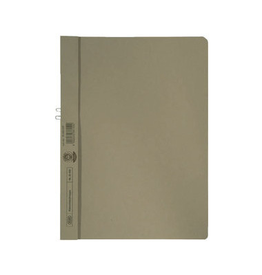 Klemmhefter 400001024, A4, für ca. 10 Blatt, Karton, grau