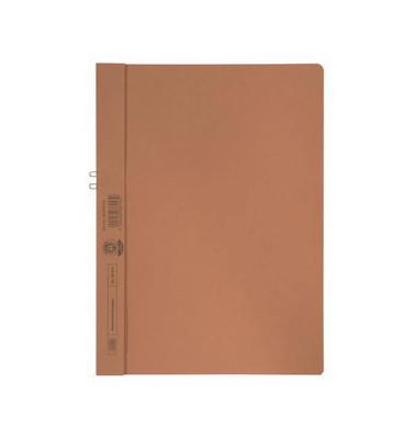 Klemmhandmappe ohne VD orange A4 250g für 10 Blatt