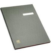 Unterschriftsmappe A4 Kunststoff schwarz 10-teilig
