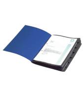 Ordnungsmappe Chic A4 7tlg. dkl.blau 315x250x12mm