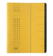 Ordnungsmappe Chic A4 7tlg. gelb 315x250x12mm