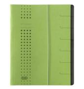 Ordnungsmappe Chic A4 7tlg. grün 315x250x12mm