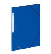 Eckspanner A4 EUROFOLIO Prestige blau 3 Klappen Füllhöhe 3cm