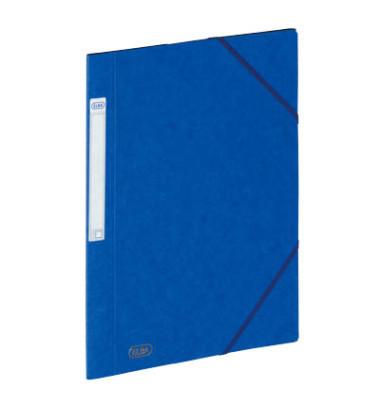Eckspannmappe Eurofolio Prestige A4 600g blau