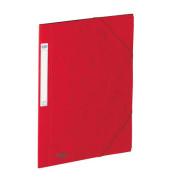 Eckspanner A4 EUROFOLIO Prestige rot 3 Klappen Füllhöhe 3cm
