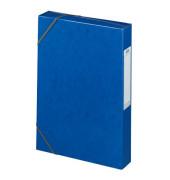 Sammelmappe Eurofolio Prestige 100200426, A4 Karton, für ca. 400 Blatt, blau
