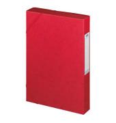 Sammelmappe Eurofolio Prestige 100200432, A4 Karton, für ca. 400 Blatt, rot