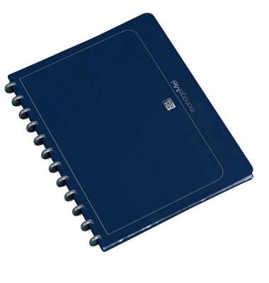 Ringmappe 61420 Vario-Zipp dunkelblau A4 Ø 21mm