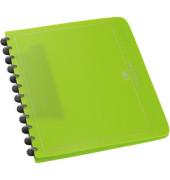 Ringmappe 61421 Vario-Zipp grasgrün A4 Ø 21mm