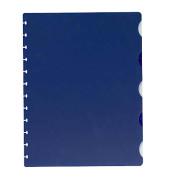 Register 61464 Vario-Zipp blanko A4 0,12mm 5-teilig