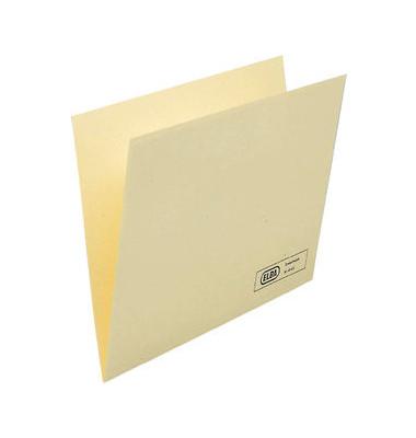 Einstellmappen A4 Recyclingkarton chamois 310x230mm für 80 Blatt