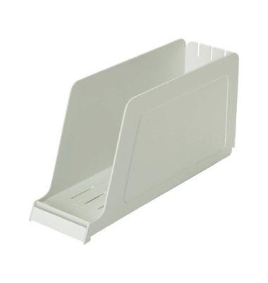 Stehsammler 100552015 98x337x165mm A4-quer Polystyrol grau