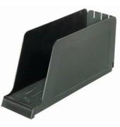 Stehsammler 98 x 337 x 165mm A4 quer Polystyrol schwarz