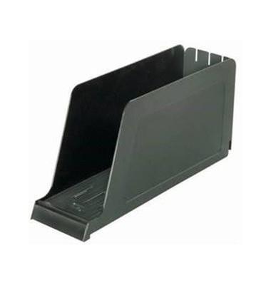 Stehsammler 100552016 98x337x165mm A4-quer Polystyrol schwarz