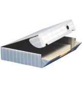 Archivbox tric grau/weiß 45 x 34 x 8,8 cm DIN A3