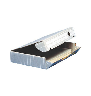 Archivboxen tric 83325 A3 grau/weiß 8,8x45x34cm