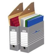 Archivbox tric grau/weiß 9,5 x 34 x 26,5 cm DIN A4