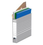 Archivboxen tric 83423 A4 grau/weiß 27x34x5,5cm