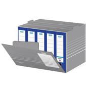 Archivbox tric grau/weiß 46,5 x 36 x 32,5 cm DIN A4