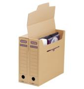 Archivbox tric System braun 76x339x314mm Wellpap.