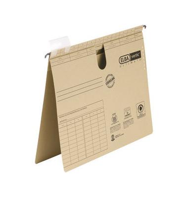 Hängehefter vertic ULTIMATE 85441 A4 240g Karton braun kaufmännische Heftung
