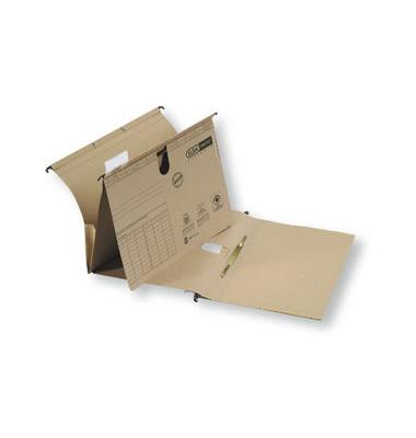 Hängehefter vertic ULTIMATE 85450 A4 240g Karton naturbraun kaufmännische Heftung mit Tasche