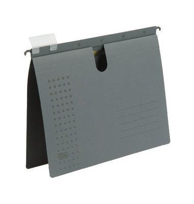 Hängehefter A4 chic 230g Recyclingkarton anthrazit kaufmännische Heftung 100552090