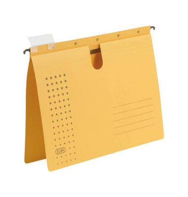 Hängehefter chic 85741 A4 230g Karton gelb kaufmännische Heftung