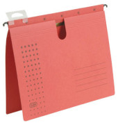 Hängehefter A4 chic 230g Recyclingkarton rot kaufmännische Heftung 100552110