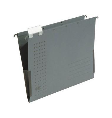Hängetasche A4 chic anthrazit mit Sichtreiter 230g bis 300 Blatt Recyclingkarton 100552098