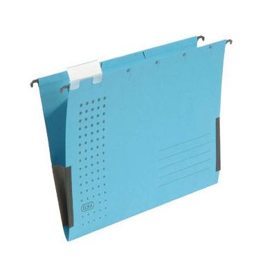 Hängetasche A4 chic blau mit Sichtreiter 230g bis 300 Blatt Recyclingkarton 100560149