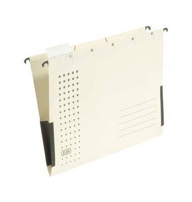 Hängetasche A4 chic chamois mit Sichtreiter 230g bis 300 Blatt Recyclingkarton 100560148