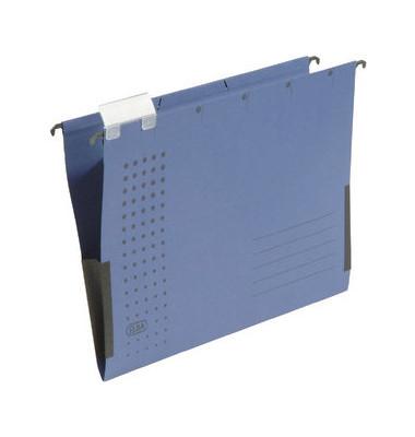 Hängetasche A4 chic dunkelblau mit Sichtreiter 230g bis 300 Blatt Recyclingkarton 100552102