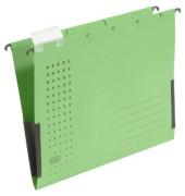 Hängetasche A4 chic grün mit Sichtreiter 230g bis 300 Blatt Recyclingkarton 100552104