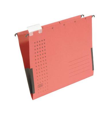 Hängetasche A4 chic rot mit Sichtreiter 230g bis 300 Blatt Recyclingkarton 100560145