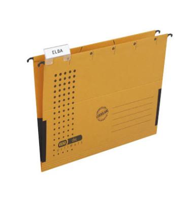 Hängetaschen chic ULTIMATE A4 gelb 5 Stück 85803