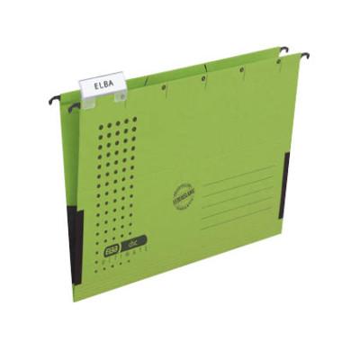 Hängetaschen chic ULTIMATE A4 grün 5 Stück 85803