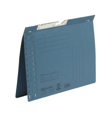 Pendelhefter A4 250g Karton blau Amtsheftung