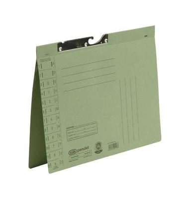 Pendelhefter A4 250g Karton grün Amtsheftung