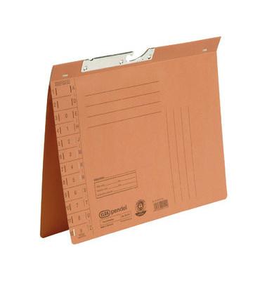 Pendelhefter 90421 A4 250g Karton orange Amtsheftung